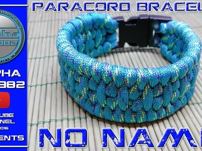 How to Make Paracord Bracelet No Name 2017 - Trilobit