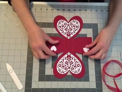 'HOW TO' Valentine Treat Box assembly