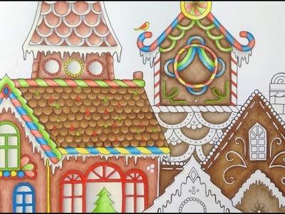 JOHANNA'S CHRISTMAS - prismacolor pencils - color tutorial part 3