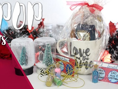 KPOP DIY: Christmas kpop gift ideas. Easy and Cheap!| Seventeen, Big bang, EXO,Jessica #K-ristmas2