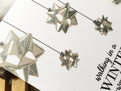 Last Christmas Card Tutorial of 2016