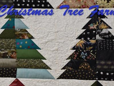 Long Arm Wednesday - Christmas Tree Farm