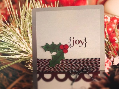 Merry Christmas.Card Ideas from The Stamps of Life