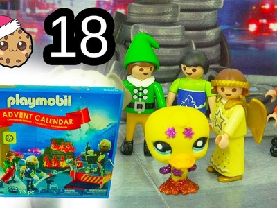 New Elf  - Playmobil Holiday Christmas Advent Calendar - Toy Surprise Blind Bags  Day 18