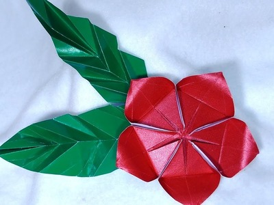 Origami flower Helena . Ideas for Easter decoration.