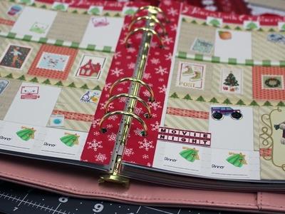 Plan With Me-Carpe Diem-Christmas Stamps Theme