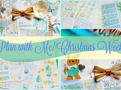 Plan with Me! Christmas Week in my Erin Condren Life Planner