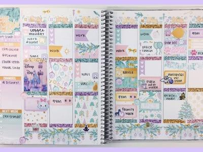 Plan With Me: Pastel Christmas | Erin Condren Vertical