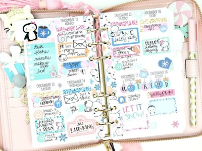 Plan with Me: Personal Planner. 25 Spreads of Christmas!