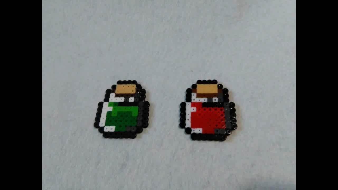 Pociones The Legend of Zelda hama beads