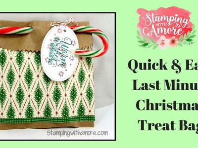 Quick & Easy Last Minute Christmas Treat Bag