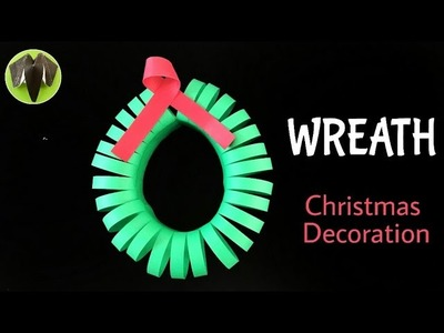 WREATH for Christmas Decoration - Tutorial from Paper Folds