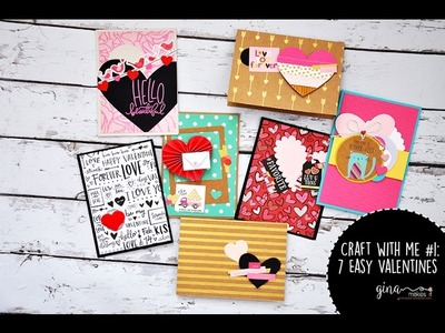 Craft With Me #1: Valentine's Stash Cards