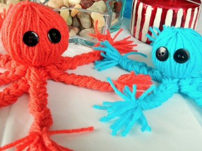 Crafts For Kids | How To Make A Yarn Octopus