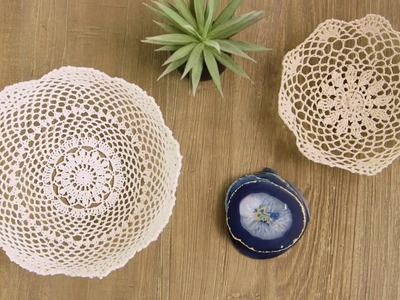 DIY | Amazing Lace Bowl (Just Add Sugar and Water!!)