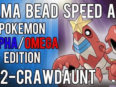 Hama Bead Speed Art | Pokemon | Alpha.Omega | Timelapse | 342 - Crawdaunt