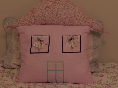 How to make House Shaped Pillow