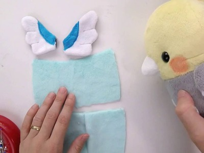 How to make plush: Wings