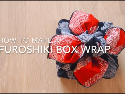 Instructions: How To Make A Furoshiki Box Wrap