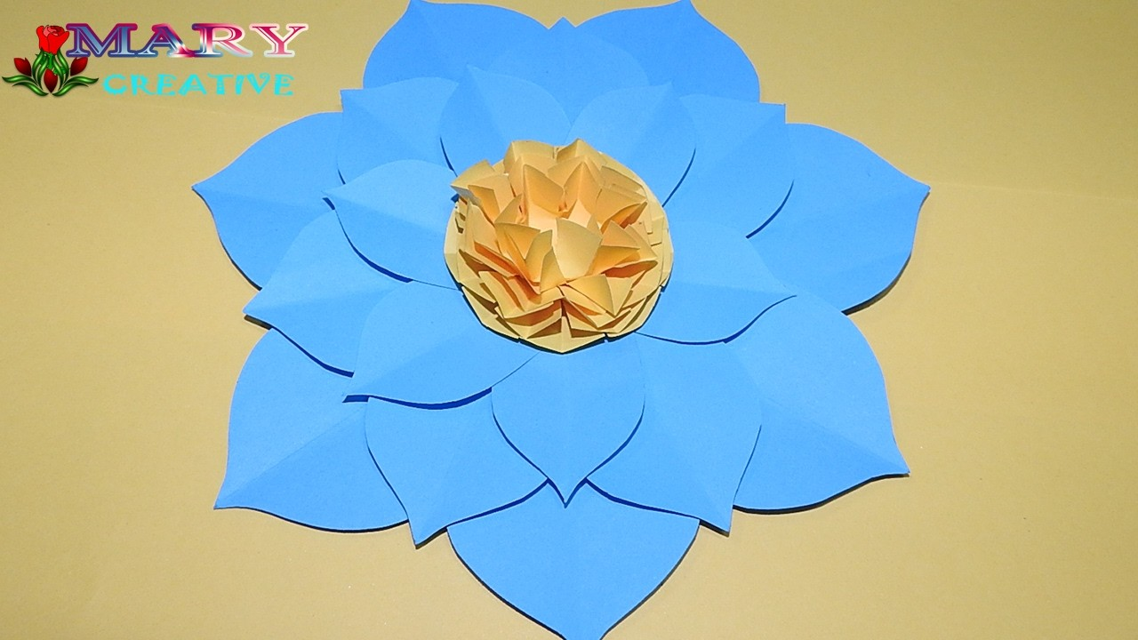 Flower Mary Creative Paper Flower Origami 21 How To Make A