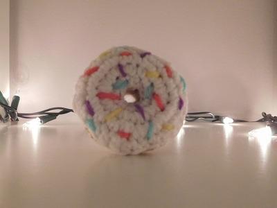 Mini Crochet Doughnut.Keychain Tutorial