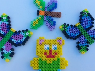 Perler Beads Fused Bead Kit, Rare Bugs n' Birds - Making Butterfly