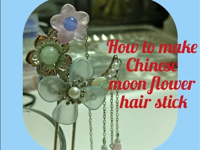 Tutorial - how to make the Chinese Hair Stick