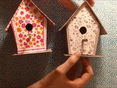 DIY Create a Cardboard Birdhouse - Home Decoration