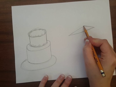 How to draw 3D cakes