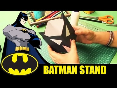 How To Make Batman Pen Stand | Batman Theme | Step By Step DIY | Crafts For Kids
