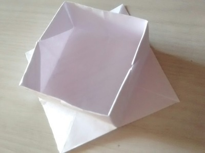 How to make paper box easy