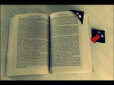 How to Make Penguin Corner Bookmark by Paper
