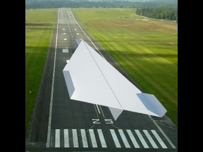 How to make WORLD'S BEST PAPER AEROPLANE