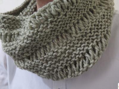 織嘢 JickYeah - 教你織一條頸巾圈! How To Knit a Cowl!