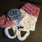 Loom Knit Shower Back Scrubby