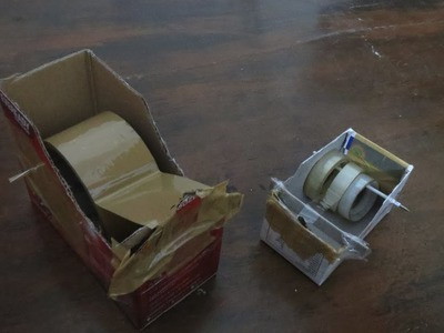 Make DIY Tape Dispenser at Home for Dirt Cheap
