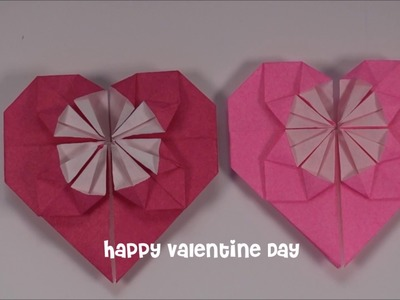 [Origami] How to make a Valentine Heart