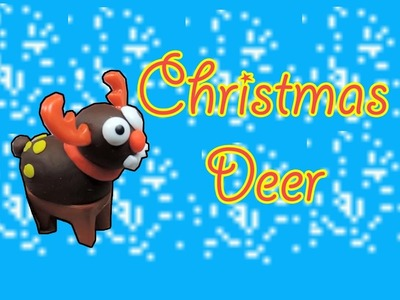 Play doh Festival Merry Christmas Deer Of Santa Play Dough by MamaSurpriseCollections