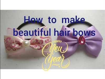 Tutorial - how to make the  hair bow