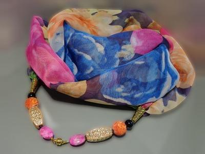 Video Tutorial: Scarf-necklace