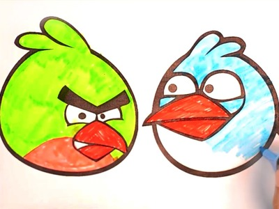 Angry Bird Coloring Pages | Toddlers lesson ideas by Preschool Craft