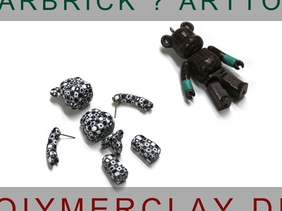 Bearbrick polymer clay DIY.Art toy ?