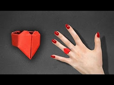 C 4 Craft- How to make a Paper Ring-How to Make an Origami  Ring-How to Make a Paper Fancy Ring