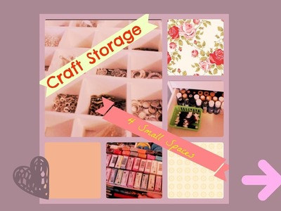 Craft Storage For Small Spaces | Tour + DIY