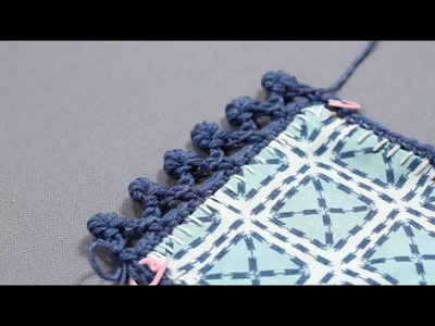 Crochet Border Tutorial: How to Crochet a Bullion Coil
