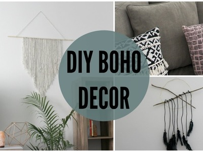 DIY BOHO INSPIRED HOME DECOR♡
