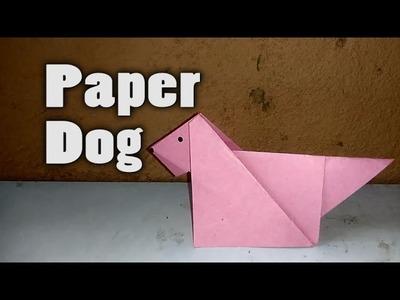 DIY Crafts || Paper Dog || Paper Crafts || Origami Dog || Origami Easy
