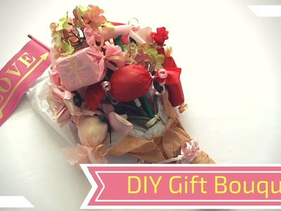 DIY Custom Flower Gift Bouquet