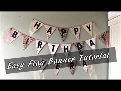 DIY FLAG BANNER