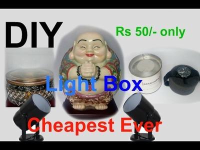 DIY : Homemade softlight box, cheap and effective